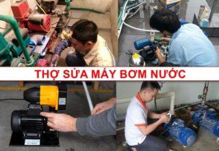 thợ sửa máy bơm nước Minh Nhật